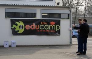 educamp 2012 in der Kaiserin Augusta Schule in Köln