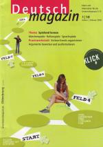Artikel zu Erzählstrukturen in Computerspielen im Deutschmagazin