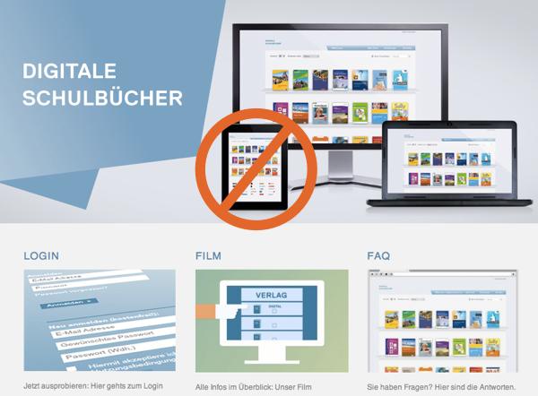 "holpriger start der plattform ""digitale schulbücher  ~ Buchregal Digitale Schulbücher"