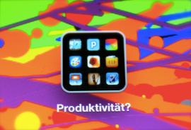 Produzieren statt Konsumieren - funktioniert das auch mit dem iPad?