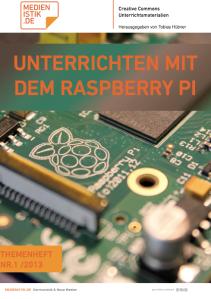 Das neue Themenheft zum Raspberry Pi