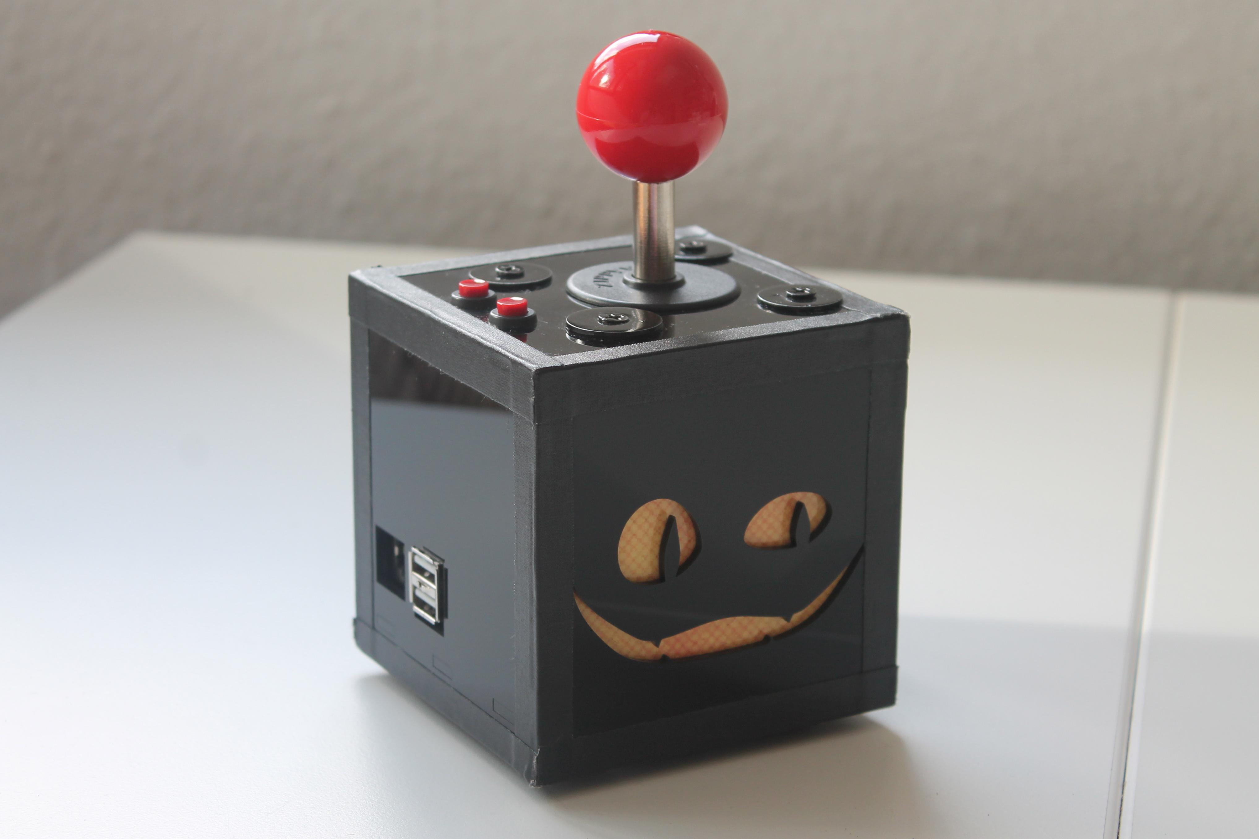 Vers Des Raspberry PiThemenhefts Minecraft ArcadeMaschine - Raspberry minecraft spielen