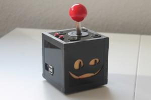 Eine selbstgebaute Raspberry Pi Arcade-Maschine