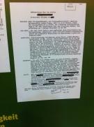 Ein Brief von 1986, der die Bespitzelug eines Schüler aus Dresden dokumentiert.