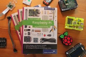 Buchtipp: Raspberry Pi - Der praktische Einstieg, 3 Exemplare werden verlost!