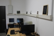 Another look in my Raspberry Pi lab - yes, it is quite small...