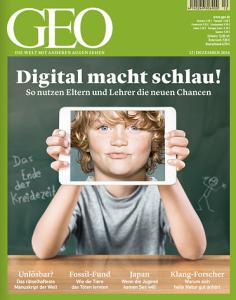 Das Cover des aktuellen GEO-Magazins (12/2014)