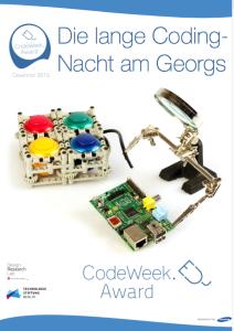 Am 17. April 2015 geht`s los: In der langen Coding-Nacht am St.-Georg-Gymnasium Bocholt lernen Schüler programmieren und löten.