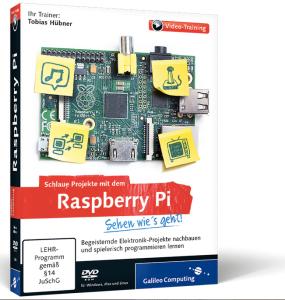 Mein Video-Training zeigt Schritt für Schritt viele tolle Projekte mit dem Raspberry Pi.