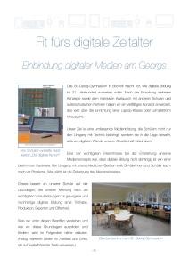Die offiziellen Lehrpläne bringen den digitalen Wandel kaum voran, daher müssen Schulen selbst aktiv werden.