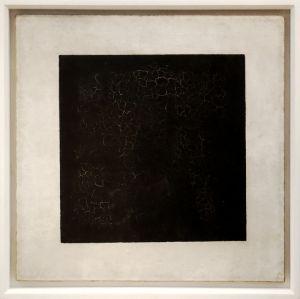 Kasimir Malewitsch - Schwarzes Quadrat auf weißem Grund (Quelle: Wikipedia)