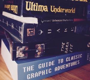 Bücher über Spiele, Spiele über Bücher - alles im längsten MEDIENISTIK-Artikel aller Zeiten!