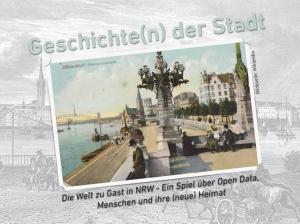 Unser Gewinnerprojekt - Geschichte(n) der Stadt: Ein Spiel über Open Data, Menschen und ihre (neue) Heimat