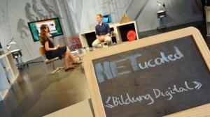 """""""NETucated - Bildung digital"""" heißt die neue Interview-Reihe bei NRWision"""