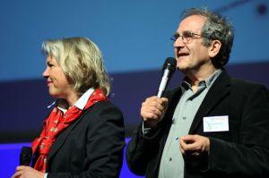 Reinhard Karl auf dem Bodensee-Kongress 2008 (Fotografin: Martina Drignat)