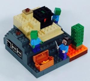 Eine tolle Alternative zu kommerziellen Raspberry-Hüllen: Das LEGO-Minecraft-Gehäuse
