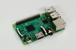 Raspberry Pi, Modell 3 (Preis: ca. 35,-€)