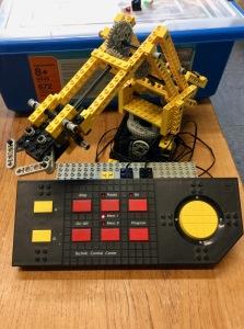 Das LEGO Technic Control Center aus dem Jahr 1990