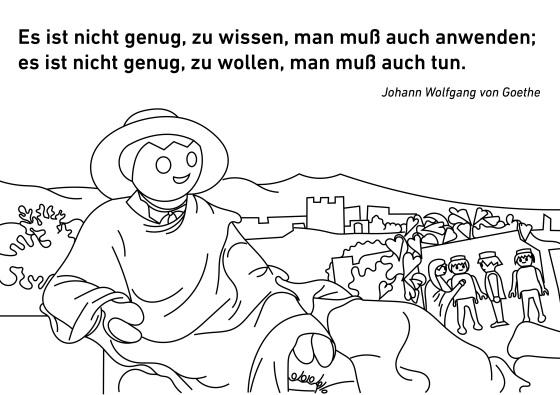 Goethe Playmobil